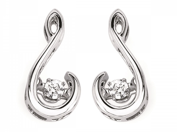Shimmering Diamond  - SS Shimmering Diamond Earrings